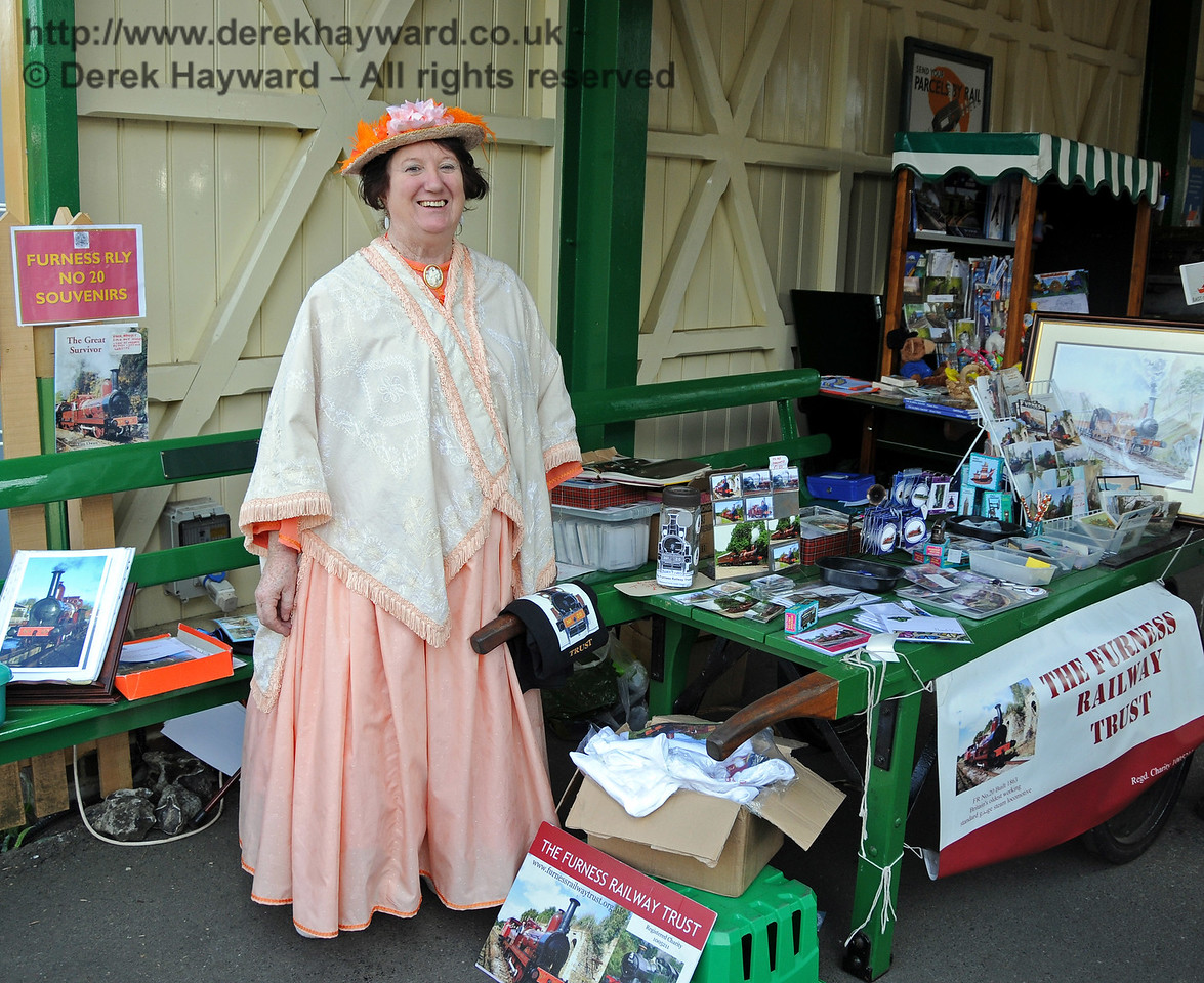 The Furness Railway Trust stand. Kingscote 08.08.2010  3835