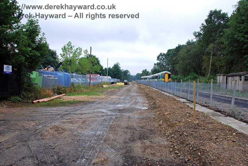 The East Grinstead Station site. 07.08.2009