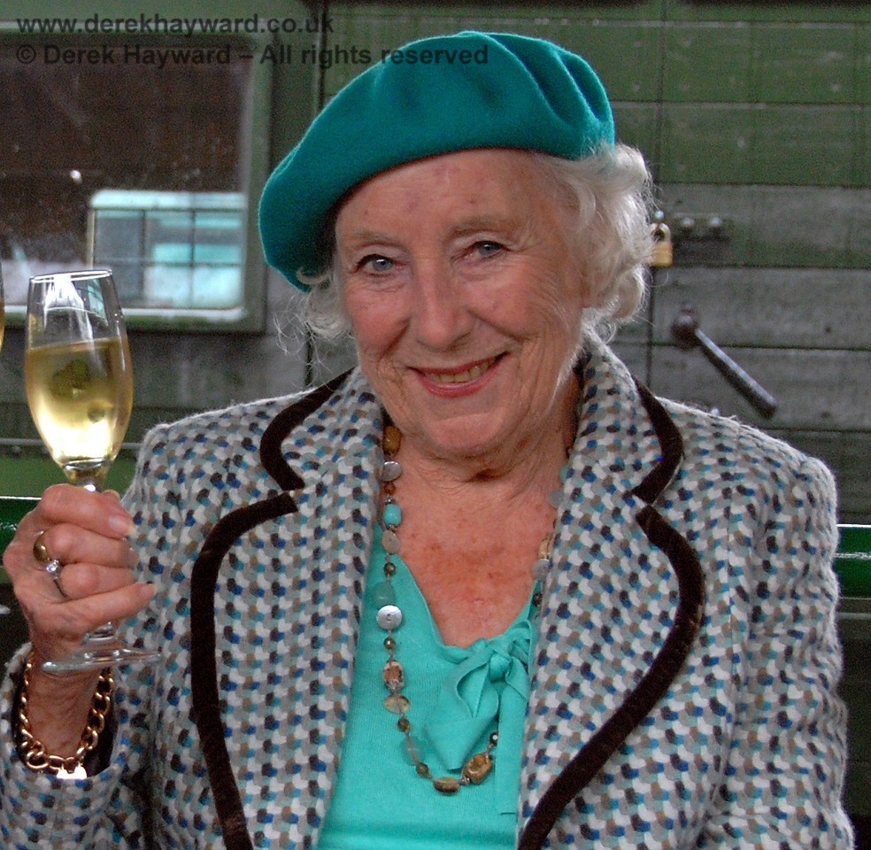 Dame Vera Lynn. Horsted Keynes 07.08.2009