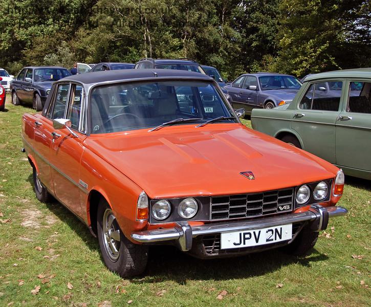 Rover V8 JPV2N. Horsted Keynes 12.08.2007