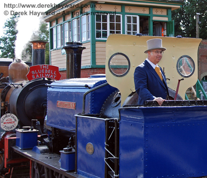 Joseph Firbank and Sharpthorn on the Bluebell Railway. 12.08.2007