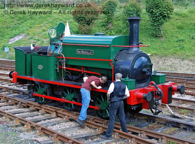The problem that prevented Sir Berkeley from running is investigated. Horsted Keynes 12.08.2007