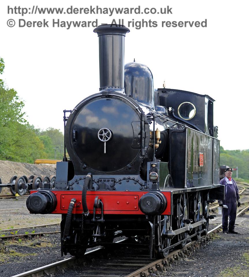 The Coal Tank at Horsted Keynes. 13.05.2017 15199