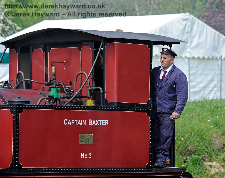 Captain Baxter shunting at Horsted Keynes 13.05.2017 15174