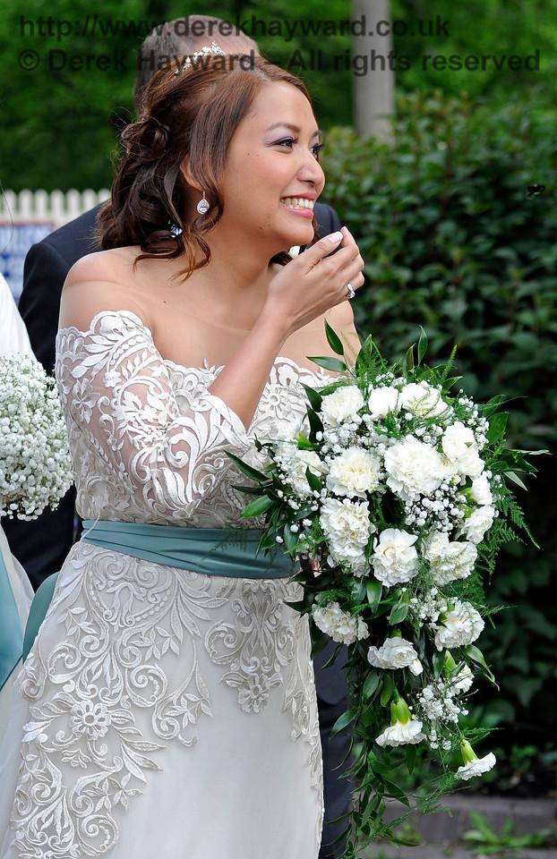 The Bride.  Sheffield Park  20.05.2017  15315