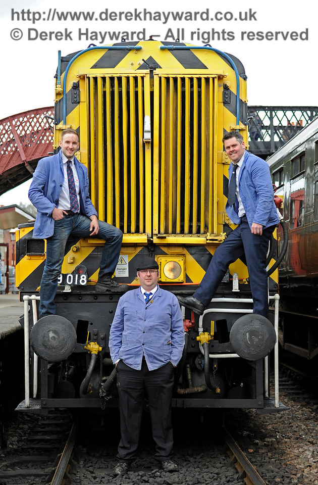 Bluebell Railway Diesel Gala, in association with GBRailfreight. 16.04.2016  12782