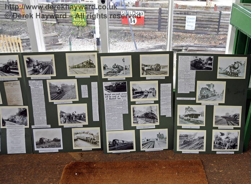An S&T display in the Kingscote North Signal Box.  21.03.2014  10091