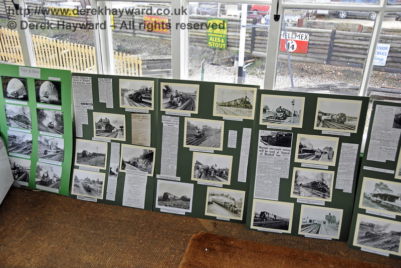 An S&T display in the Kingscote North Signal Box.  21.03.2014  10090