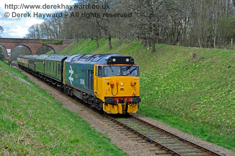 Class 50 Three Arch Bridge 020417 14888 E