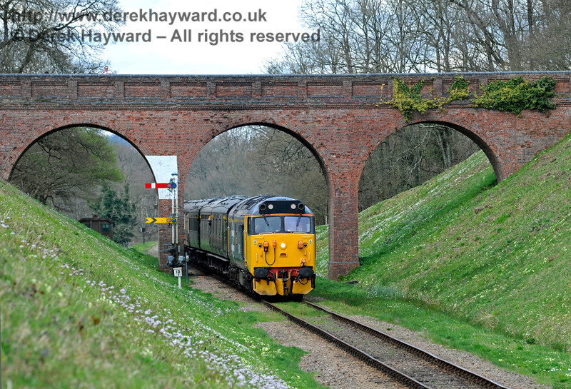 Class 50 Three Arch Bridge 020417 14879 E