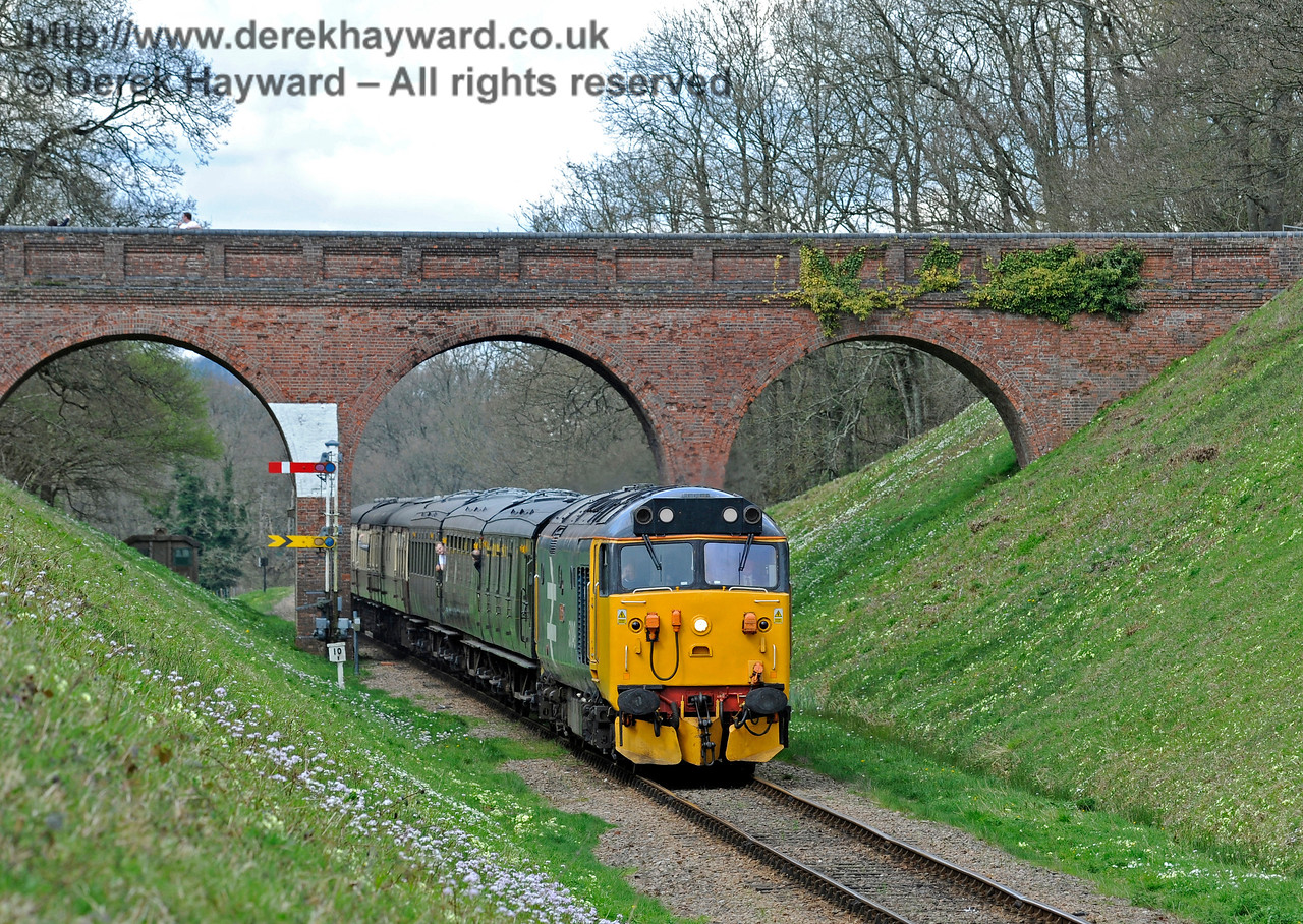 Class 50 Three Arch Bridge 020417 14881 E
