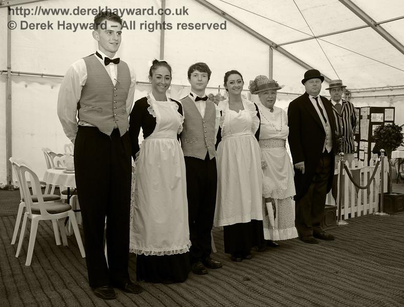 Edwardian Weekend, Horsted Keynes, 22.06.2013  9007/BW