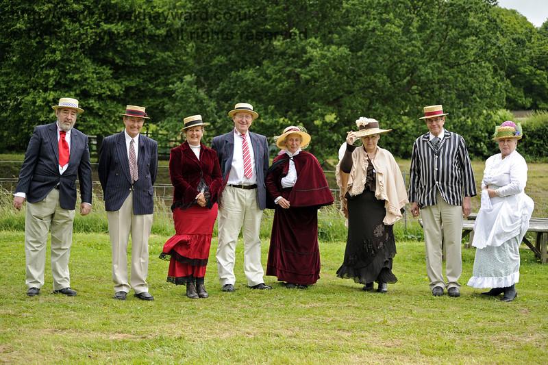 The Family.  Edwardian Weekend, Horsted Keynes, 22.06.2013  7381