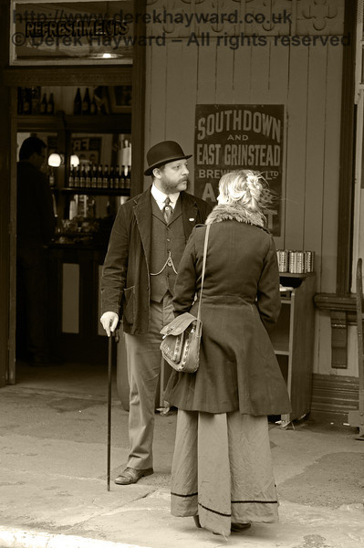 Edwardian Weekend, Horsted Keynes, 22.06.2013  7317/BW