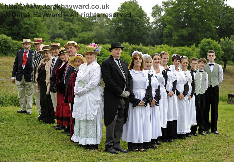 The Household.  Edwardian Weekend, Horsted Keynes, 22.06.2013  7373