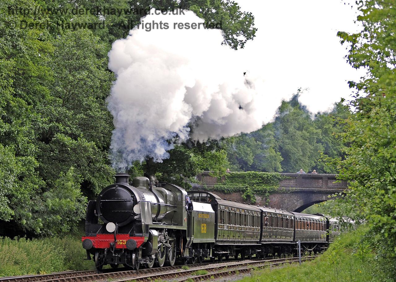 1638 at Leamland Bridge.  Edwardian Weekend, Horsted Keynes, 23.06.2013  7461