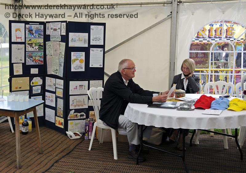 Stepney Club Stand.  Edwardian Weekend, Horsted Keynes, 22.06.2013  9060