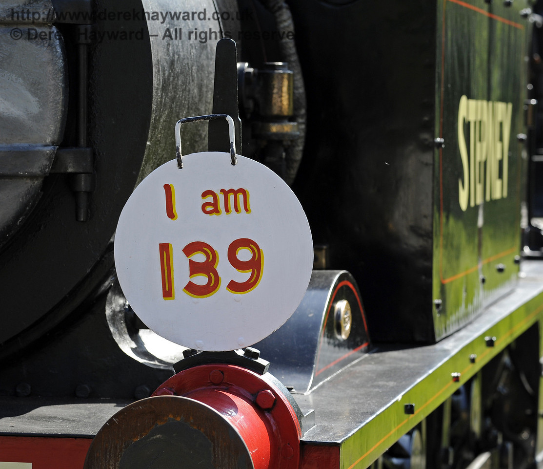 The Stepney Club had a 139th birthday party for Stepney during the Edwardian Weekend. Horsted Keynes 18.05.2014  9461