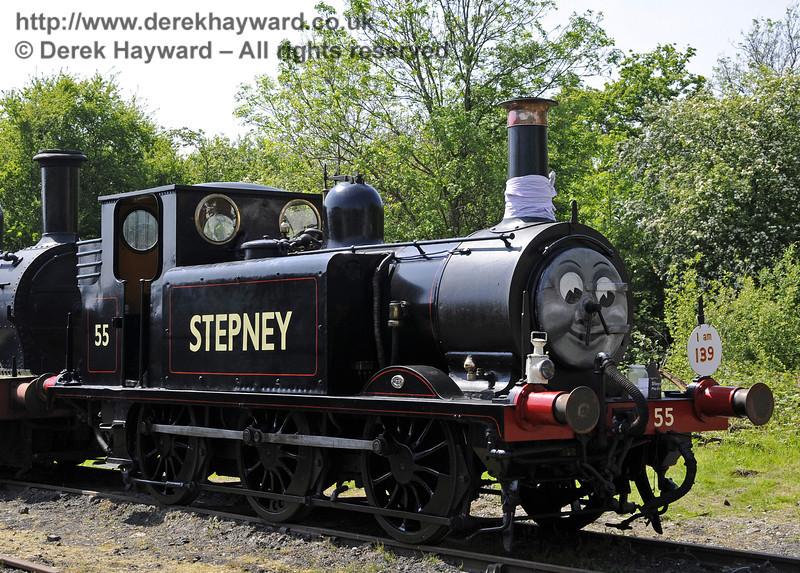 Stepney was on display on his 139th birthday.  Edwardian Weekend, Horsted Keynes, 18.05.2014  10548