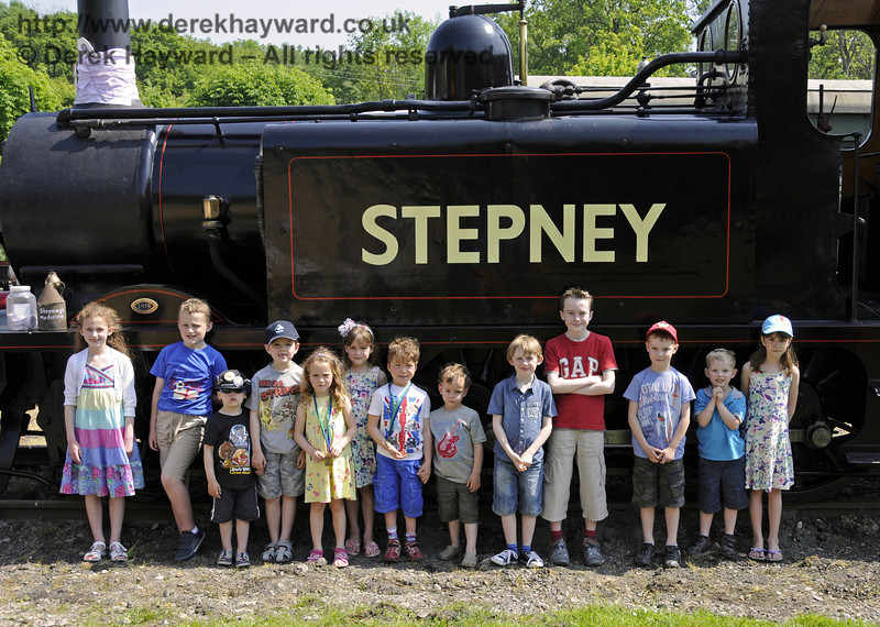 The Stepney Club had a 139th birthday party for Stepney during the Edwardian Weekend.  Horsted Keynes 18.05.2014  10572