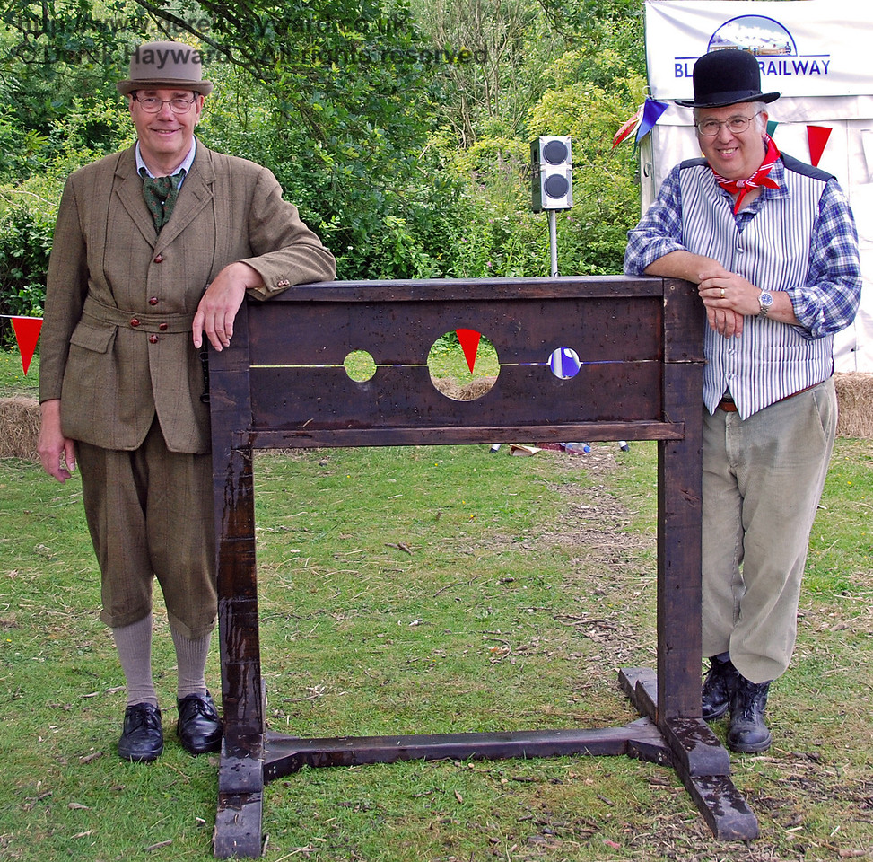 Do you know these men? Wanted for holding innocent men, women and children in the stocks! Family Fun Weekend Horsted Keynes 29.06.2008