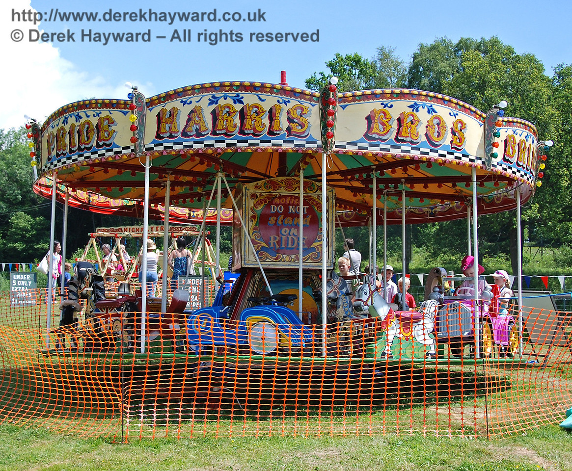 The roundabout at Horsted Keynes. 27.06.2009