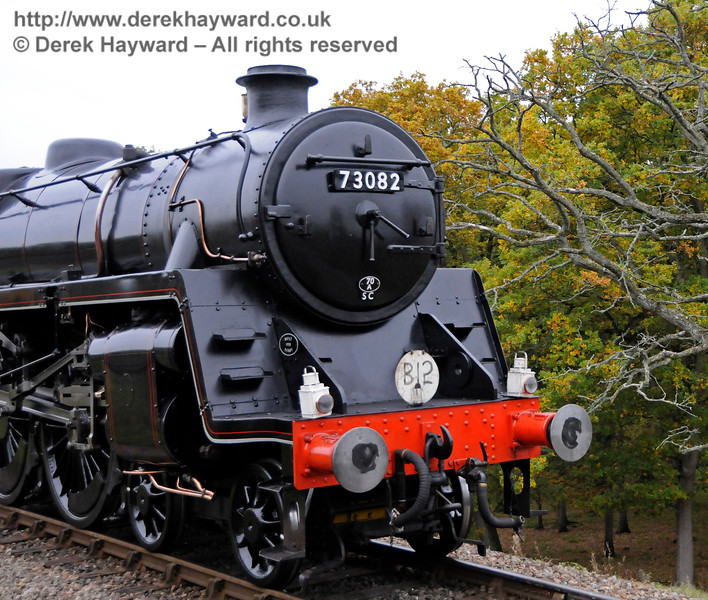 73082 pretending to be the B12 (note the headcode) 29.10.2016 16591