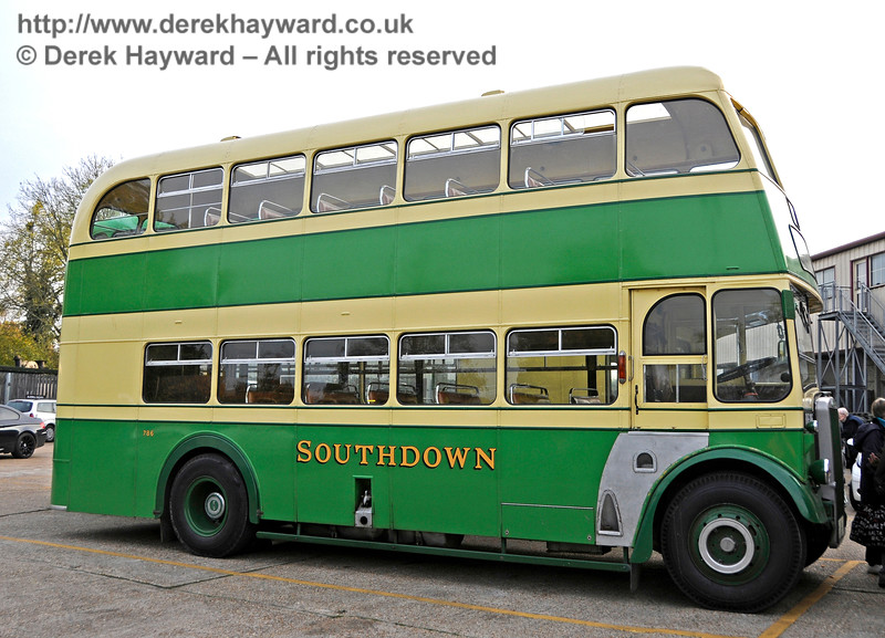 One of the vintage buses providing the service between Brighton and Sheffield Park. 30.10.2016 16645