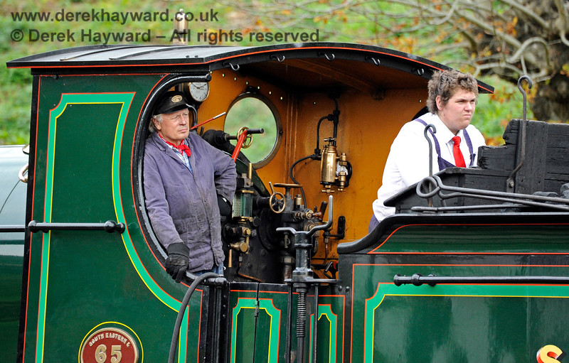 The crew of 65 at Horsted Keynes. 13.10.2018 16812
