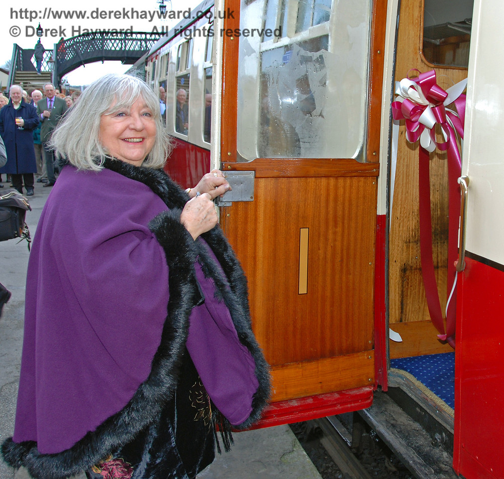 The formal launch of the Lounge Car service. 13.01.2008