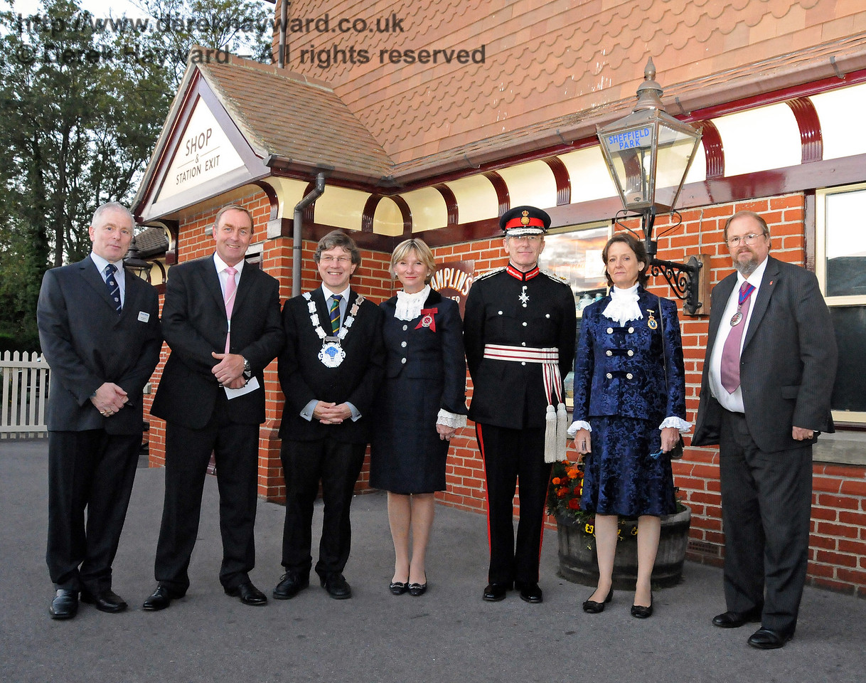 Distinguished guests at Sheffield Park 16.09.2010