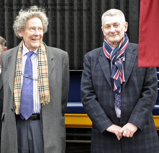 Gordon Pettitt and Chris White, without whom the extension might not have been completed.  Horsted Keynes 28.03.2013  6364