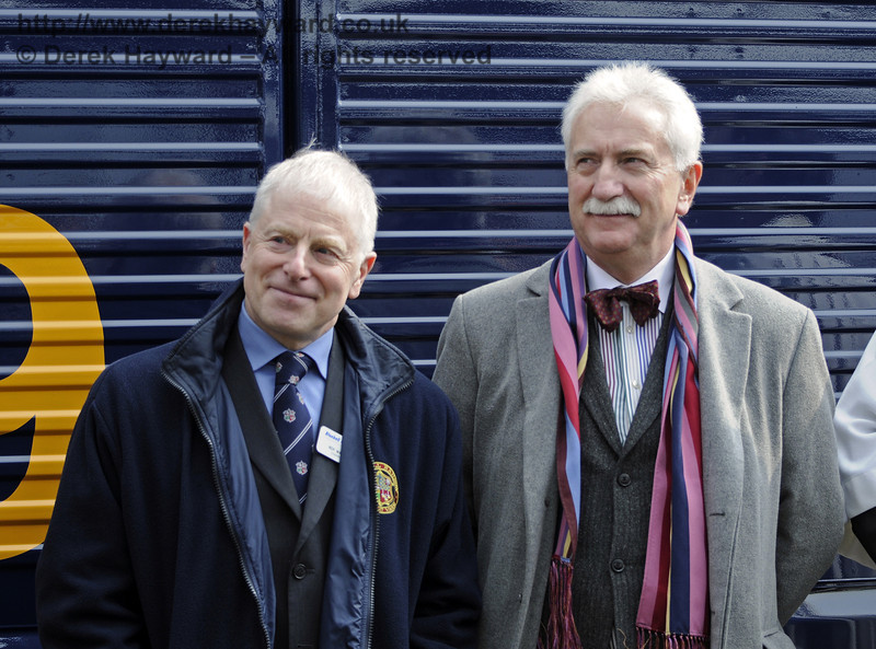 Two very happy and contented Chairmen...  Horsted Keynes 28.03.2013  8581