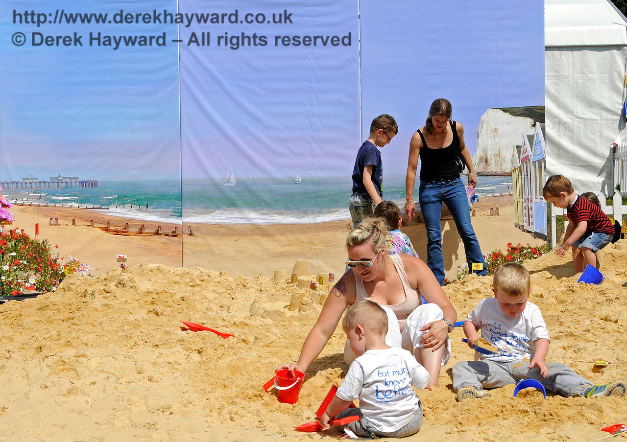 The beach at Horsted Keynes.  01.08.2015  13330