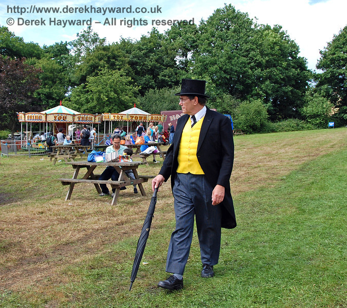 The Fat Controller was walking round inspecting everything! Horsted Keynes 23.06.2007