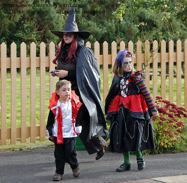 It was a perfectly normal day at Kingscote.... 25.10.2008