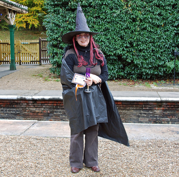 A wicked witch. Horsted Keynes 25.10.2008