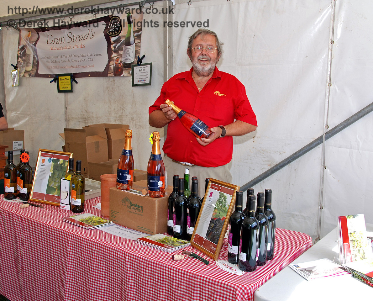 Bookers Vineyard (Bolney Wine Estate). Horsted Keynes 23.08.2009