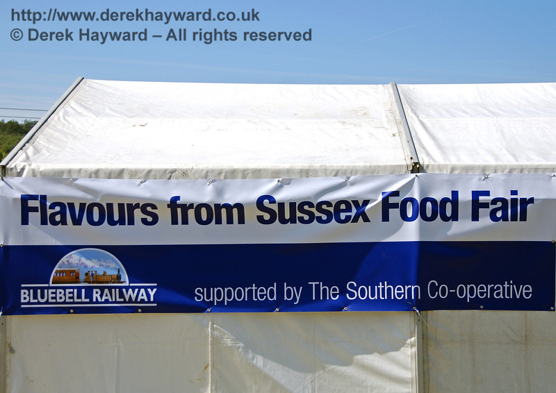 The sign says it all. Horsted Keynes 23.08.2009