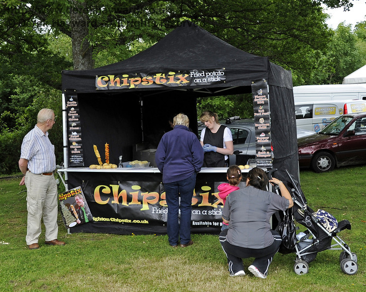 Chipstix.  Flavours from Sussex Food Fair, Horsted Keynes.  23.06.2012  5226