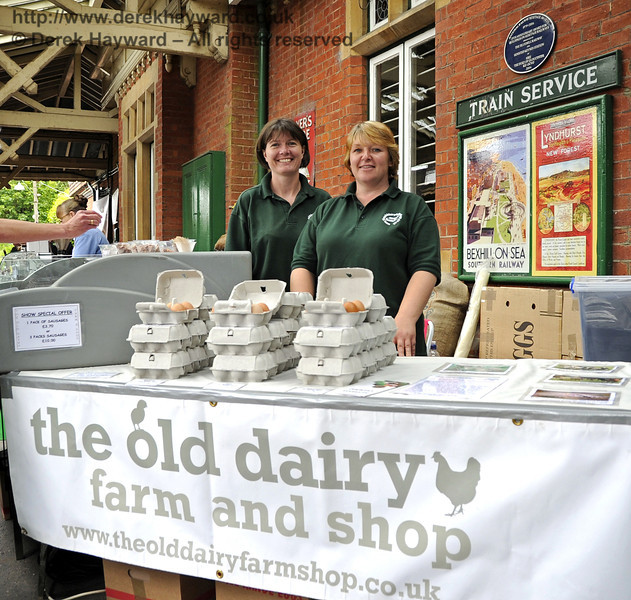 The Old Dairy Farm and Shop.  Flavours from Sussex Food Fair, Horsted Keynes.  23.06.2012  5378
