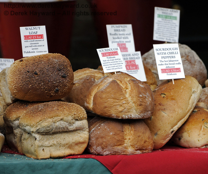 Slindon Bakery.  Flavours from Sussex Food Fair, Horsted Keynes.  24.06.2012  8178