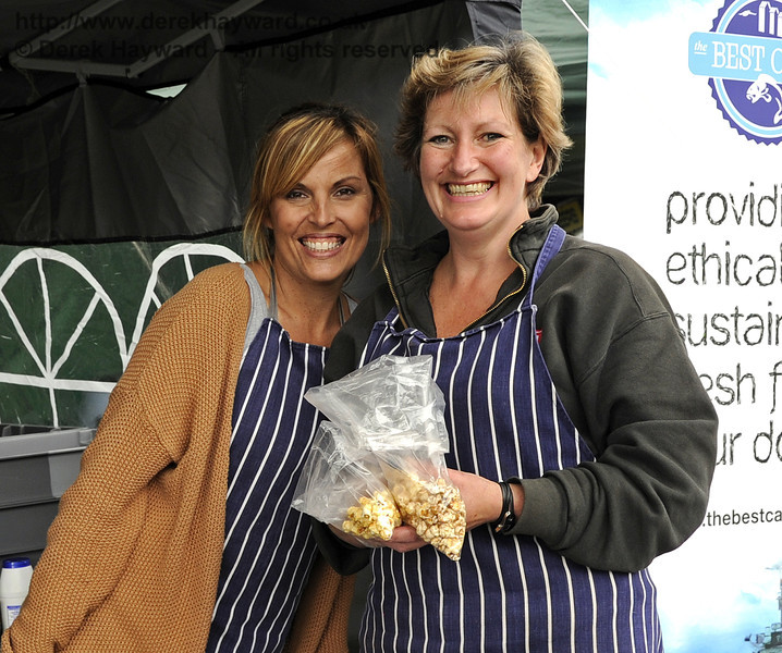 The Kettle Corn Company Popcorn.  Flavours from Sussex Food Fair, Horsted Keynes.  24.06.2012  5427