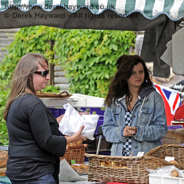 Slindon Bakery.  Flavours from Sussex Food Fair, Horsted Keynes.  23.06.2012  8163