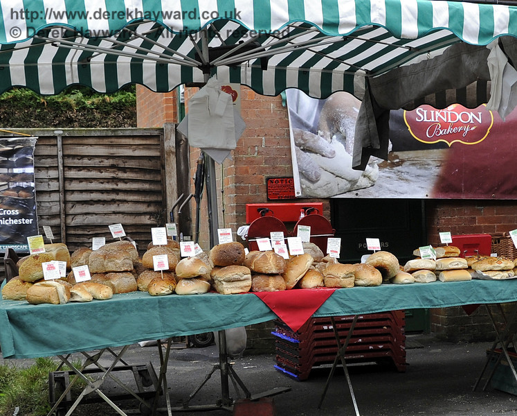 Slindon Bakery.  Flavours from Sussex Food Fair, Horsted Keynes.  24.06.2012  5417