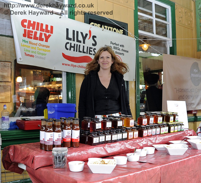 Lily's Chillies.  Flavours from Sussex Food Fair, Horsted Keynes.  23.06.2012  5341