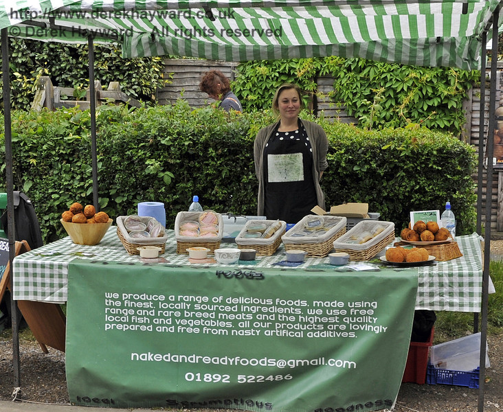 Naked and Ready Foods.  Flavours from Sussex Food Fair, Horsted Keynes.  23.06.2012  5339