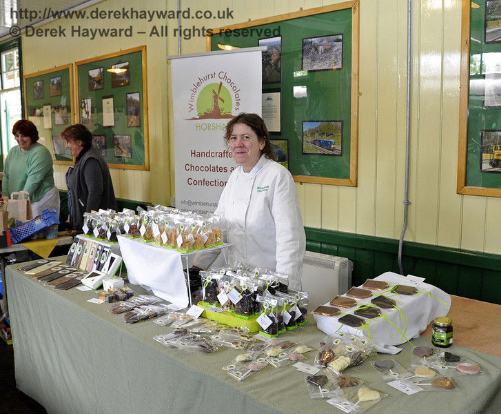 Wimblehurst Chocolates.  Flavours from Sussex Food Fair, Horsted Keynes.  23.06.2012  5255
