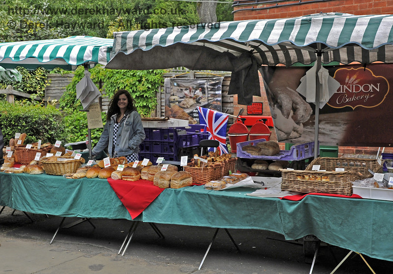 Slindon Bakery.  Flavours from Sussex Food Fair, Horsted Keynes.  23.06.2012  5348
