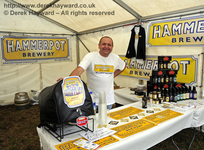 Hammerpot Brewery.  Flavours from Sussex Food Fair, Horsted Keynes.  23.06.2012  5293
